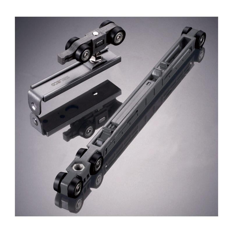 Double direction soft closing sliding door rollers Max weight 60kg SB-2407
